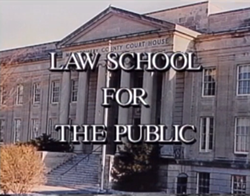 Law School for the Public in Montgomery County