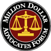 Member of Million Dollar Advocates Forum